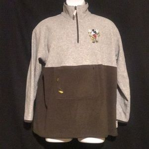 Tops - Mickey Mouse Disney Quarter Zip Pull Over